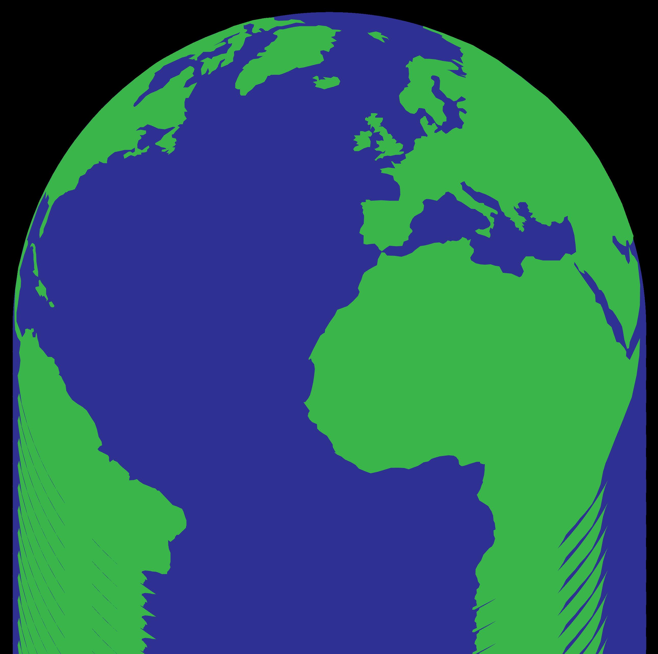 Globe World map Microsoft PowerPoint.