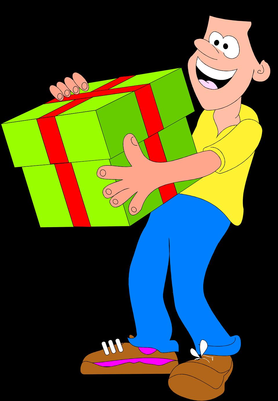 Gift clipart big present, Gift big present Transparent FREE.