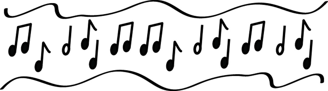 Music note border music border music note for microsoft word.