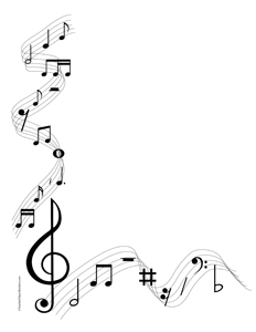 Microsoft Clipart Music Notes.
