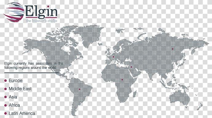 Globe World map Microsoft PowerPoint, world map dotted.