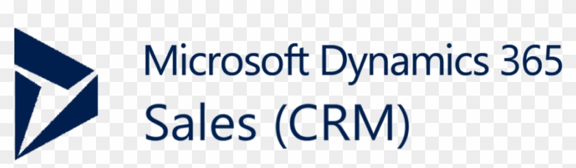 Dynamics 365 For Sales Crm Logo Presentation.