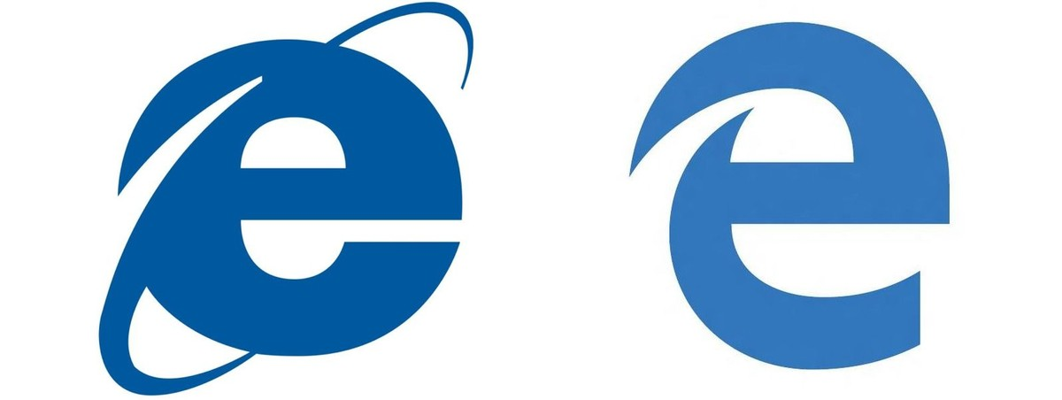 The logo for the Microsoft Edge web browser looks very familiar.