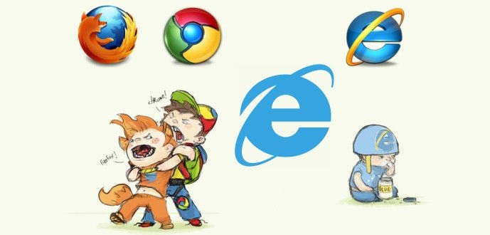 Microsoft Edge and IE falls behind Mozilla Firefox while Google.