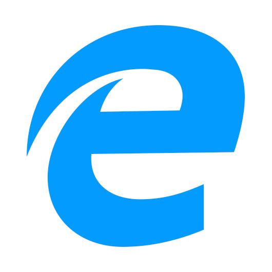 New Microsoft Edge browser logo.