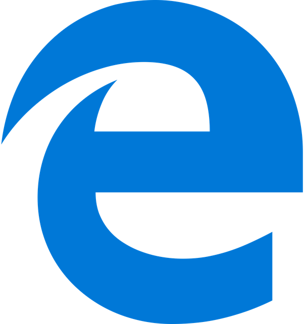 Where can I find the Microsoft Edge logo in my computer so.