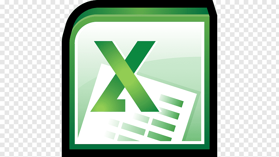 Triangle computer icon area, Microsoft Office Excel, Excel.
