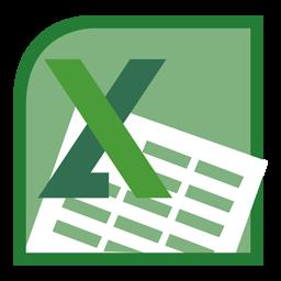 Microsoft Excel 2010 Icon.