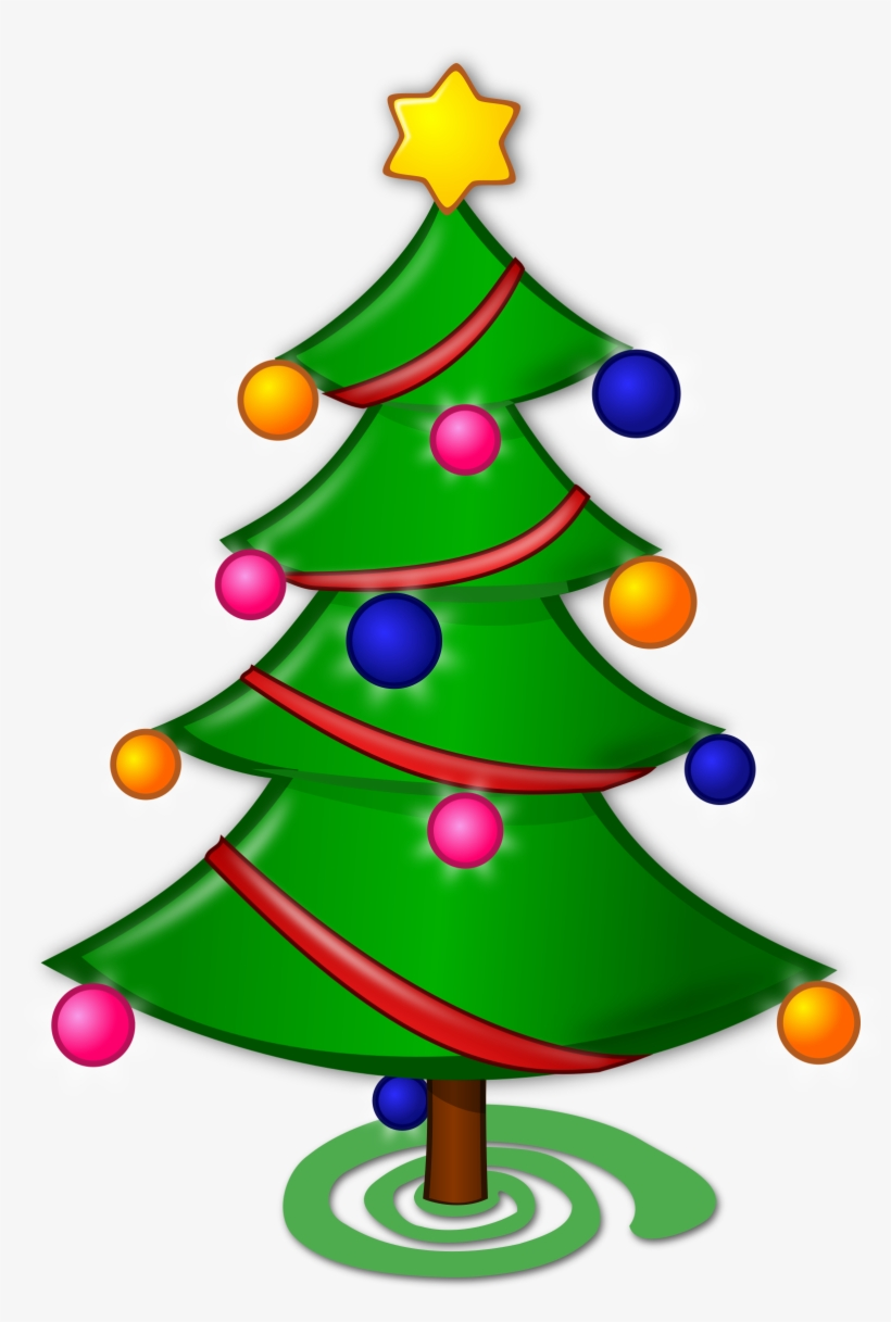 Christmas Tree Clip Art Microsoft Free Clipart.