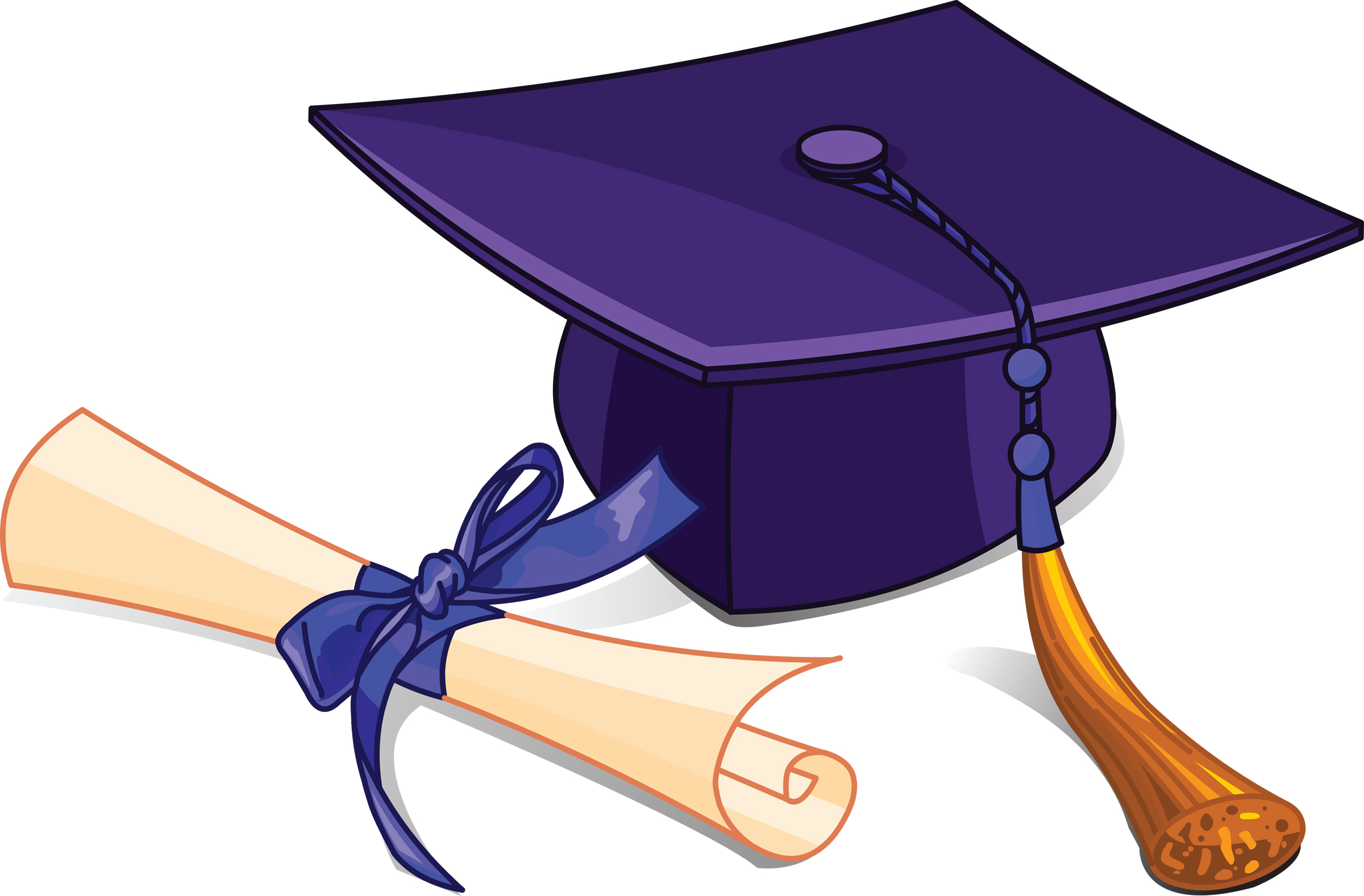 High School Graduation Clipart.