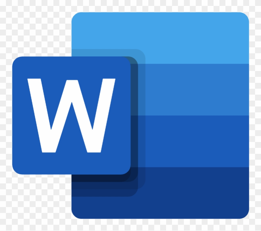 Microsoft Word Icon.
