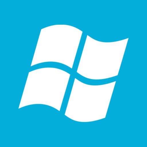 Microsoft, windows icon.