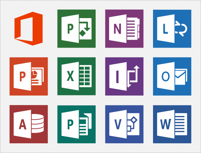 Microsoft Icons Png Vector, Clipart, PSD.