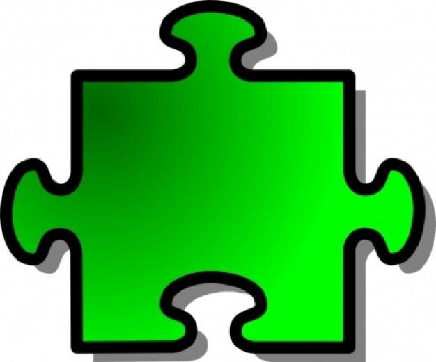 Microsoft Clip Art Puzzle.