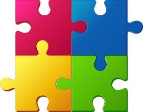 Puzzle Clipart Image.