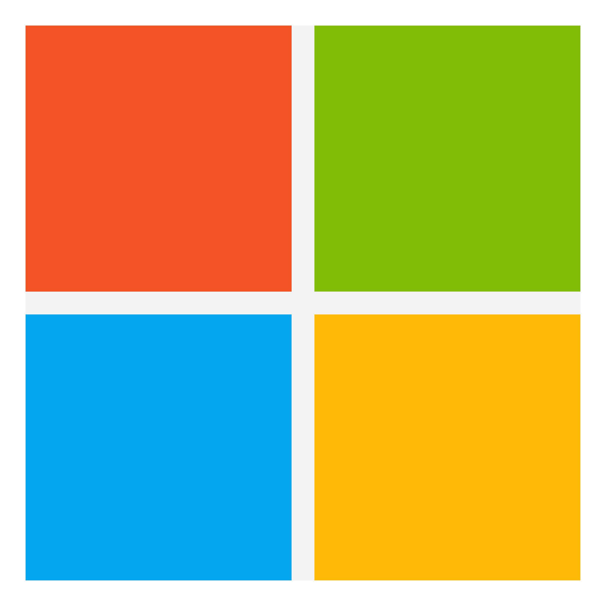 Microsoft Logo Icon PNG Image.