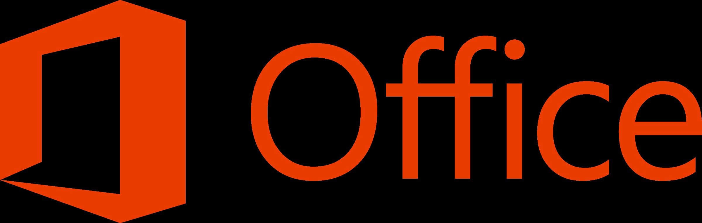 Microsoft Office 2013 Logo PNG Transparent & SVG Vector.