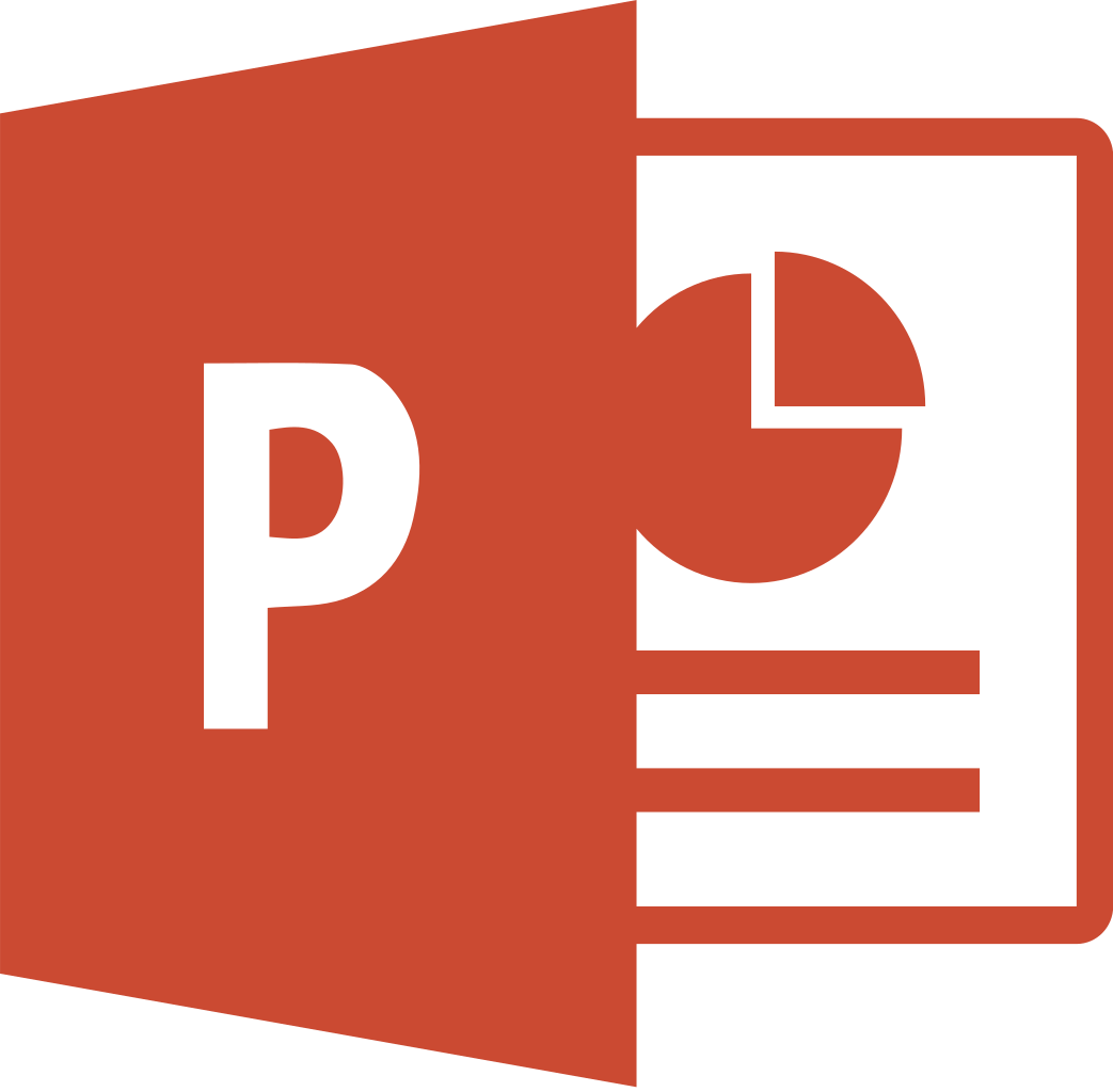 Download Free png File:Microsoft PowerPoint 2013 logo.svg.