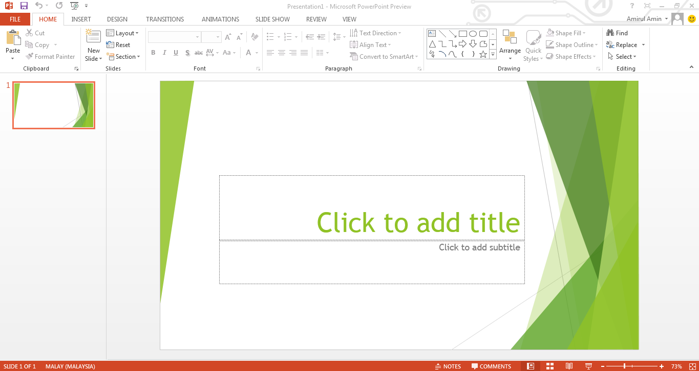 Microsoft Office 2013 Powerpoint Calendar Clipart.