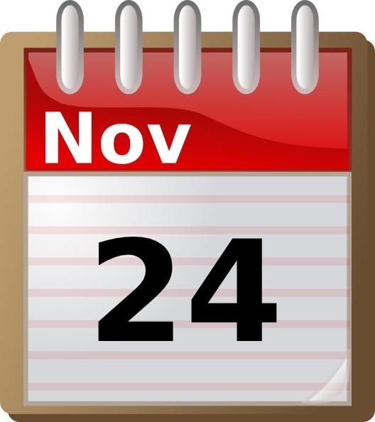 Office Calendar Clipart.