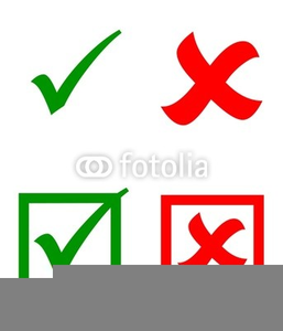 Microsoft Office Clipart Red X.