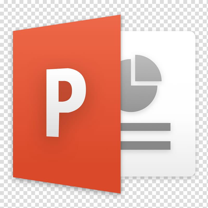 Microsoft Office for macOS, Microsoft PowerPoint icon.