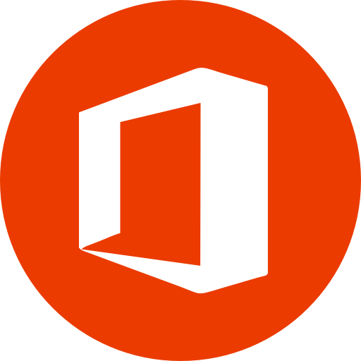 Circle, microsoft, microsoft office, office, round icon icon.