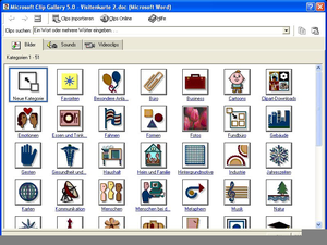 Clipart Bei Microsoft Office Word.