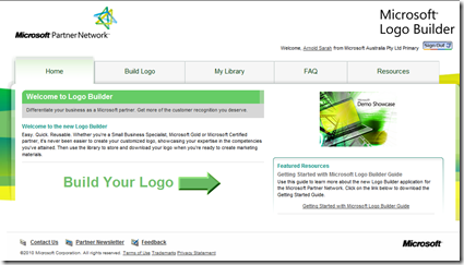 The new Logo Builder is now online!.