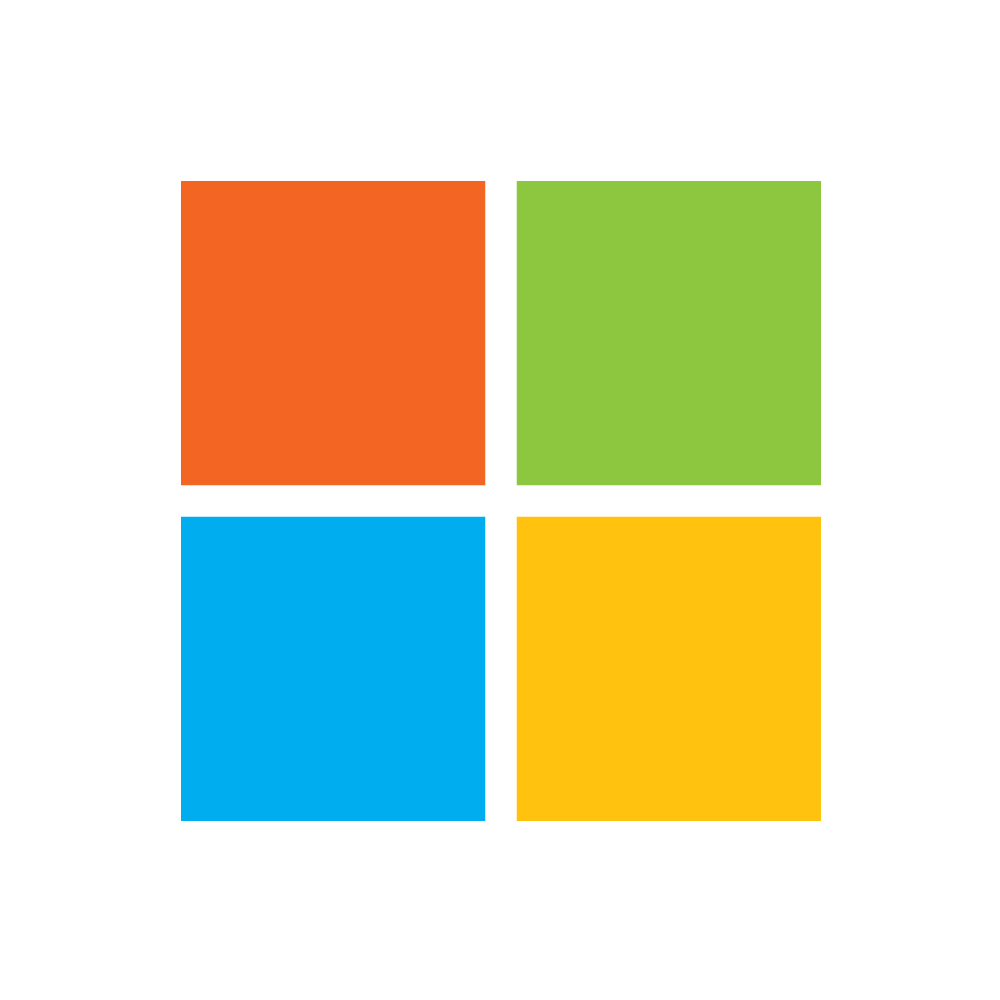 Microsoft logos PNG images free download.