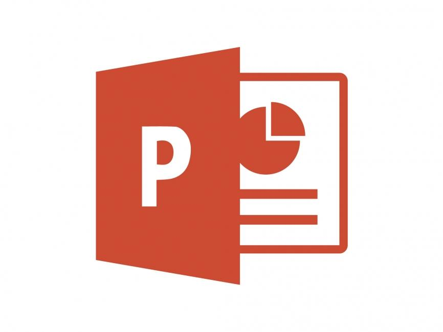 Microsoft Powerpoint 2013 Clipart.