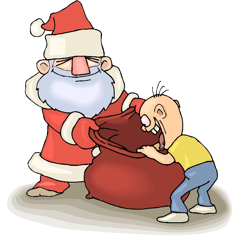 Santa Bag Clipart#2152786.