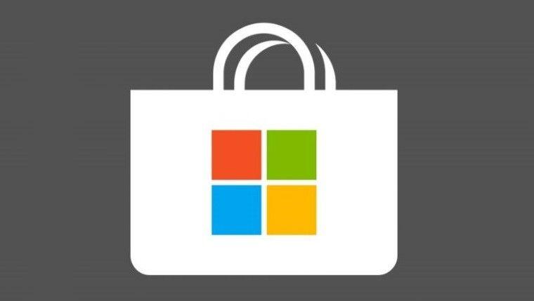 Microsoft Store Logo.