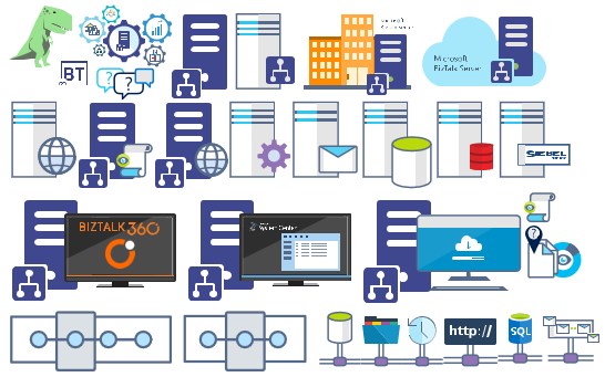 Microsoft Integration (Azure and much more) Stencils Pack v3.