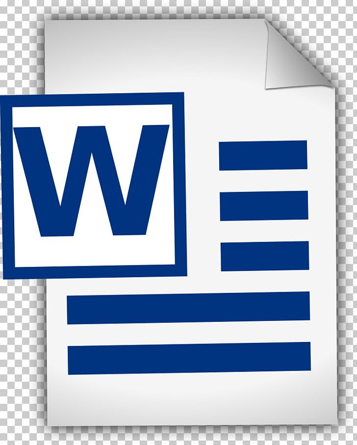 Microsoft Word Document PNG, Clipart, Area, Blog, Blue.