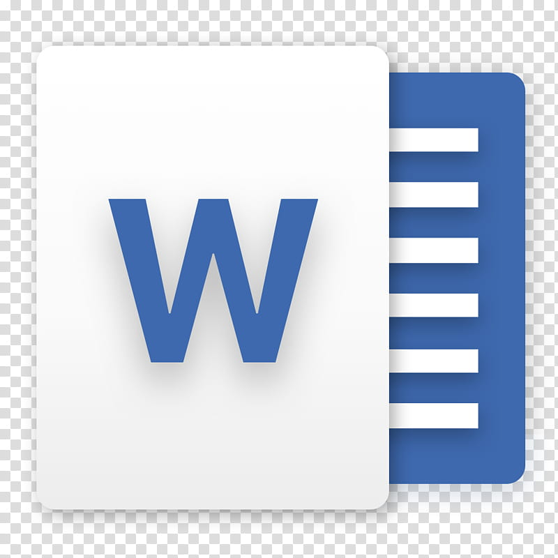 Office for macOS Slate Edition, Microsoft Word logo.
