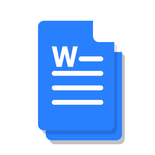 copy doc file ms office word icon.