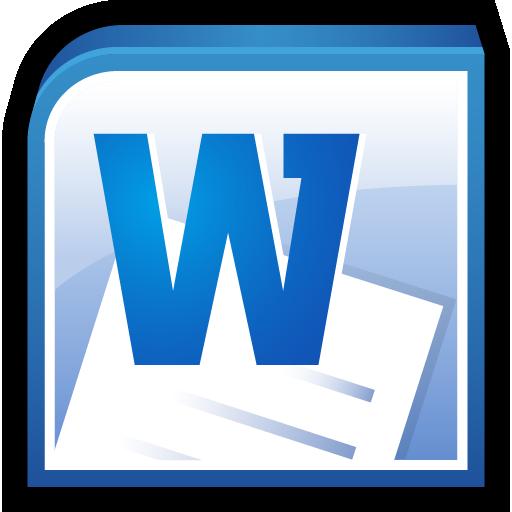 Microsoft Office Word Icon.