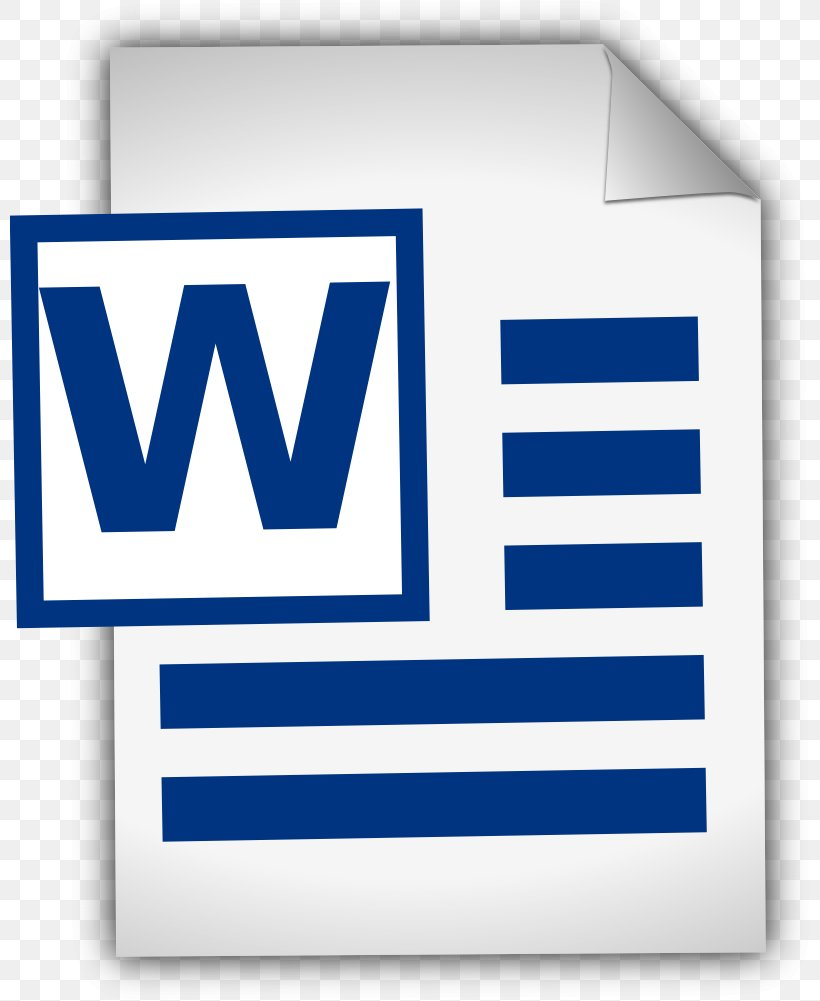 Microsoft Word Document Clip Art, PNG, 800x1001px, Microsoft.