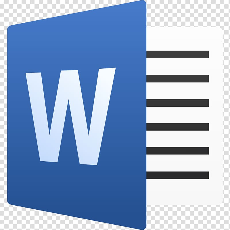 Microsoft Word Microsoft Office, creative word transparent.