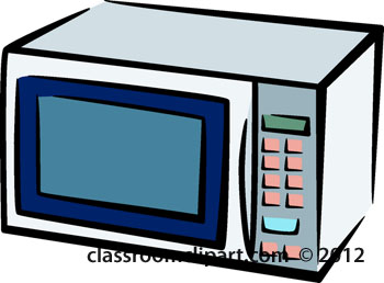 Microwave Clipart.