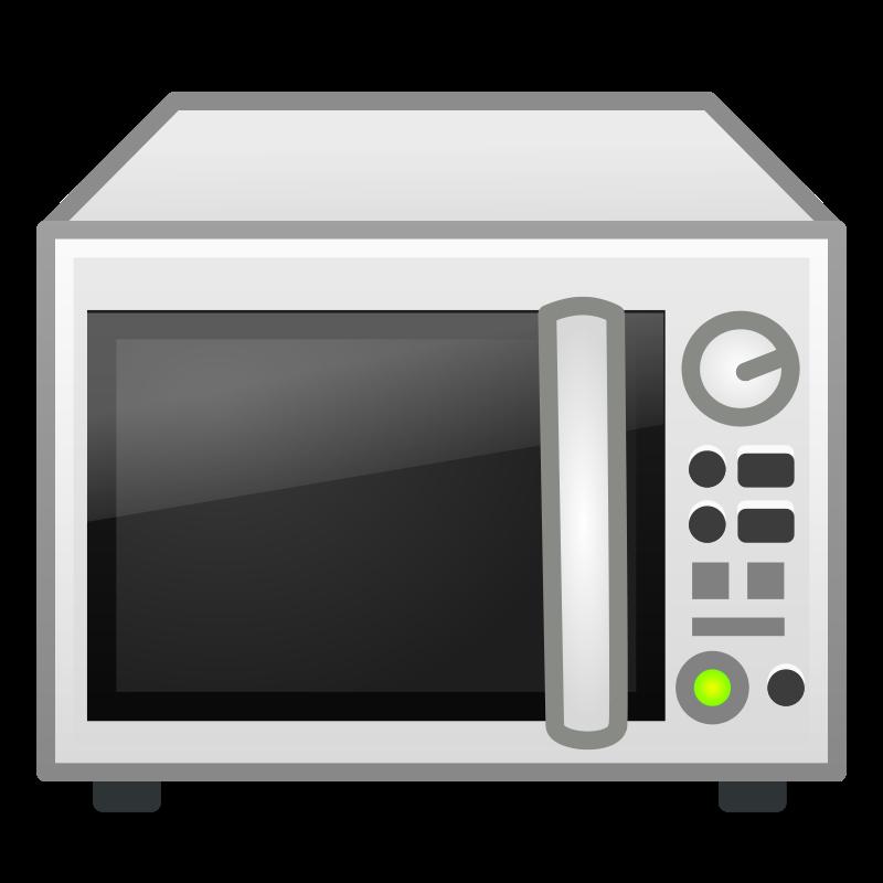 Clean microwave clipart.