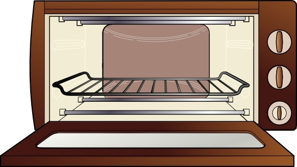Microwave Oven clip art Free vector in Open office drawing svg.