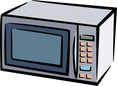 Microwave oven clipart free.