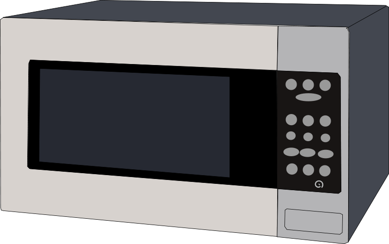 Free Clipart: Microwave oven.