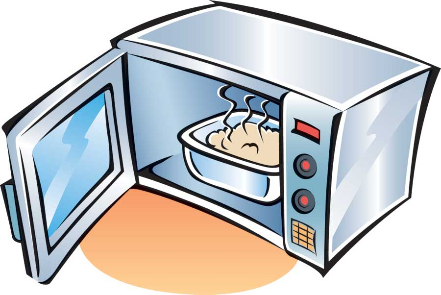 Microwave clipart 4 » Clipart Station.