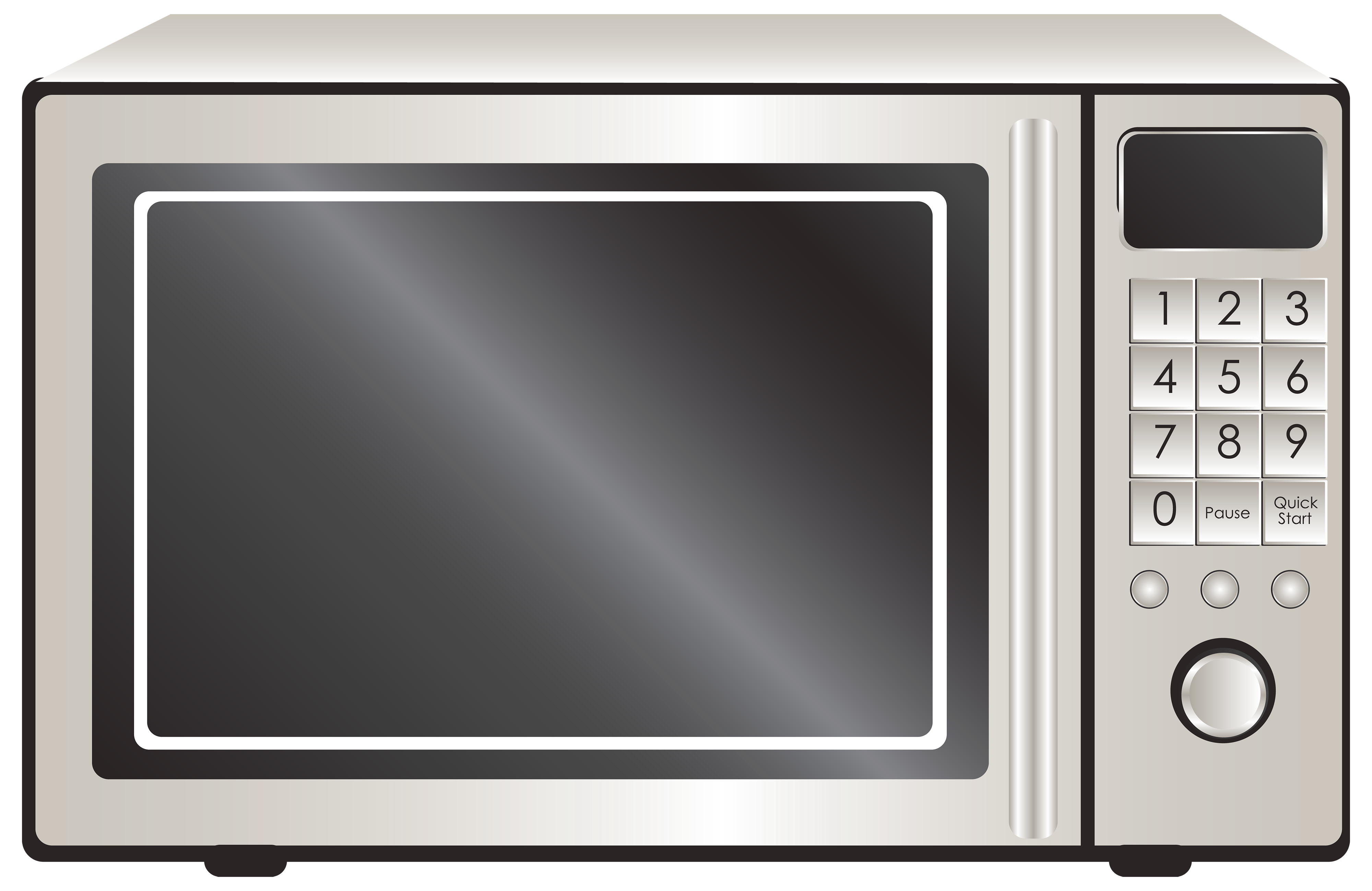 New Microwave Ovens Clip Art.
