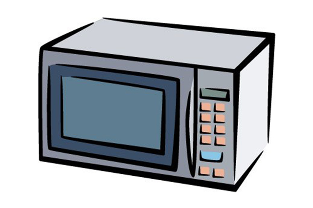 Clipart microwave.