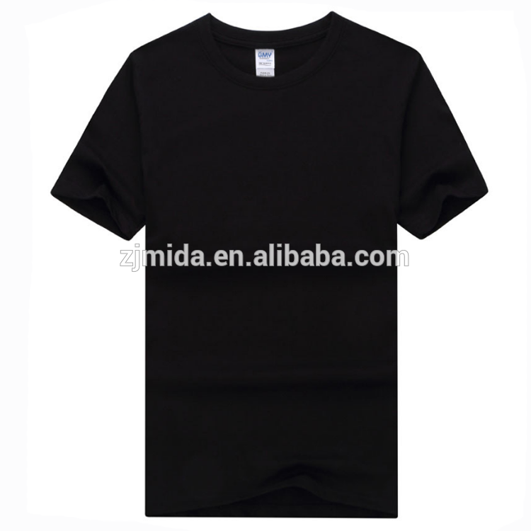 Mida 100% Cotton Sublimation T Shirt With Custom Printing Logo Sublimation  T Shirt.