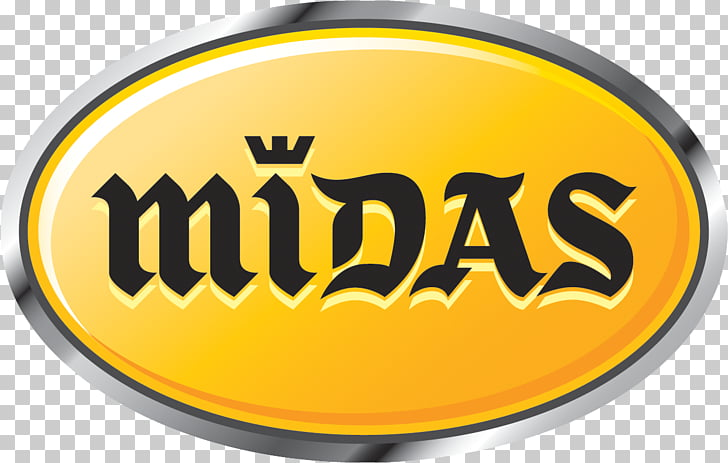 Midas Logo Automobile repair shop Car, car PNG clipart.